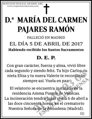 María del Carmen Pajares Ramón